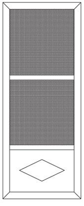Aluminum Security Screen Doors 200 Windows And Doors By