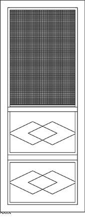 Aluminum Storm Doors 3029a Windows And Doors By Rusco
