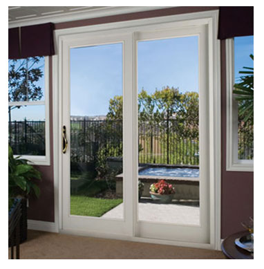 Diagenesis patio doors sliding for Outside sliding glass doors